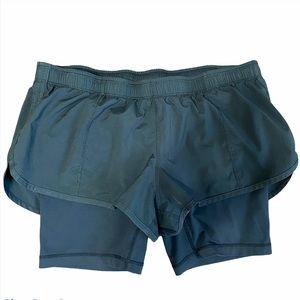 Lululemon Running Shorts with Bike Shorts size 8